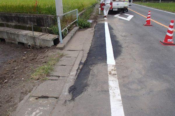 10 舗装補修完了