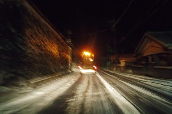 国道291号除雪