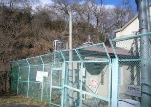 熊川第2発電所 除雪安全設備・昇降用タラップ完成