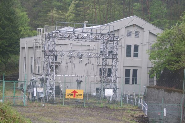 川中発電所 着工前