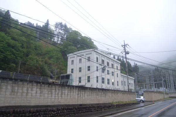 松谷発電所 着工前