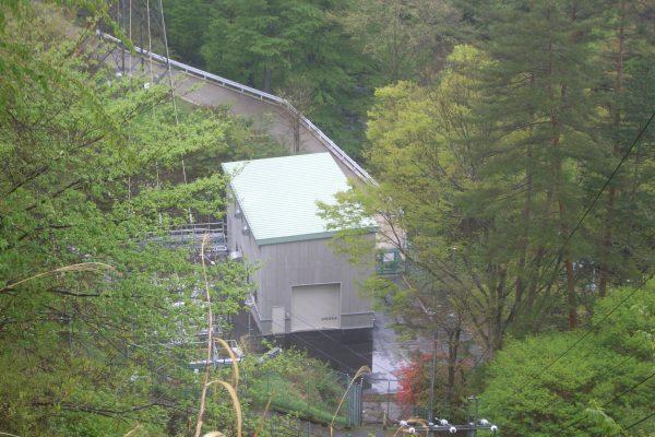 熊川第1発電所 着工前