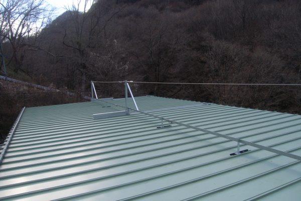 熊川第1発電所 除雪安全設備完成