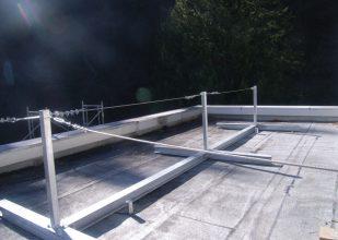 川中発電所 除雪安全設備完成
